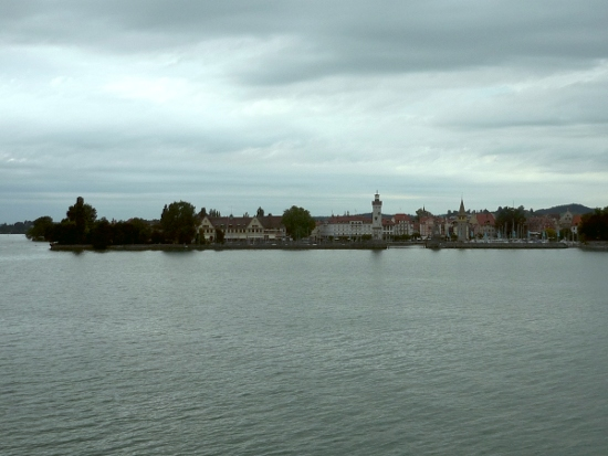Lindau from the lake